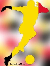 Laguppställning Belgien