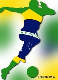 Fakta om Brasiliens landslag och laguppställning