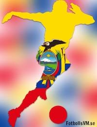 Om Ecuadors laguppställning