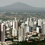 Brasilianska staden Cuiba