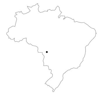 Karta Cuiabá