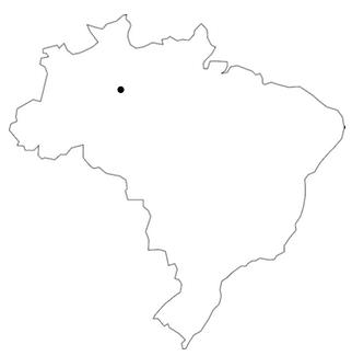 Karta Manaus
